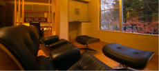 Relaxation Room Stone beds and massage chairs available