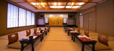 Conference room/banquet hall From small groups of 3 to 4 people, to 75 people