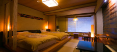 Japanese modern bed guest rooms