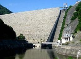 ロックフィル式 奈良俣ダム