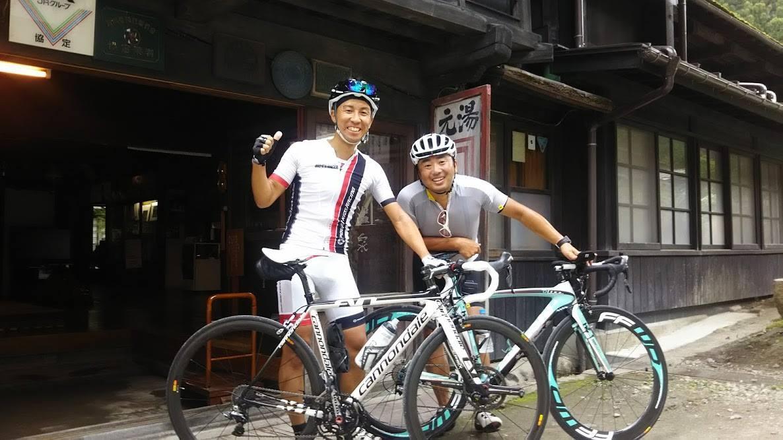 【サイクリスト歓迎の宿】