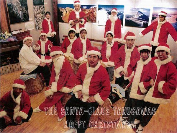 「旅館たにがわ従業員によるウクレレバンド【ザ・たにがわズ】のクリスマスライブを見に行こう!」