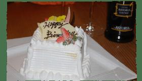 お祝いには欠かせないケーキ