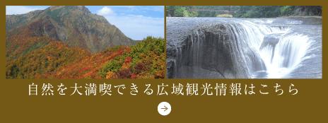 自然を大満喫できる広域観光情報はこちら